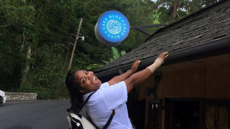 Quick trip to Cafe Blue in Irish Town, Jamaica